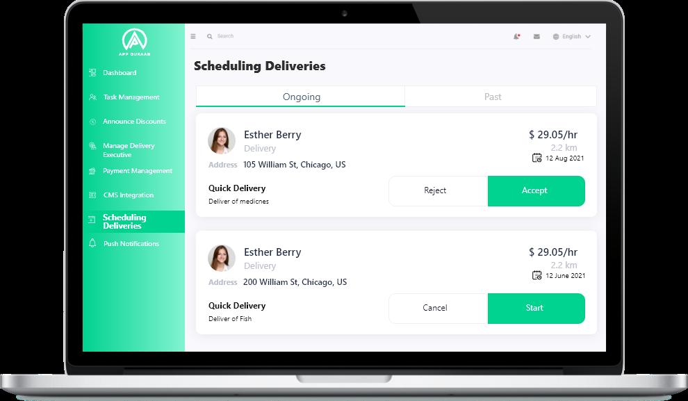 Scheduling Deliveries